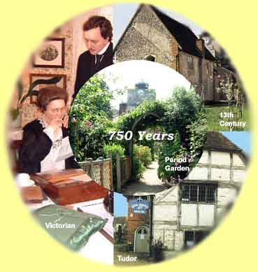 13th century, tudor cottage, victorian museum and period garden